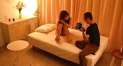 Naked girlie Ai Kurosawa gets her quim drilled